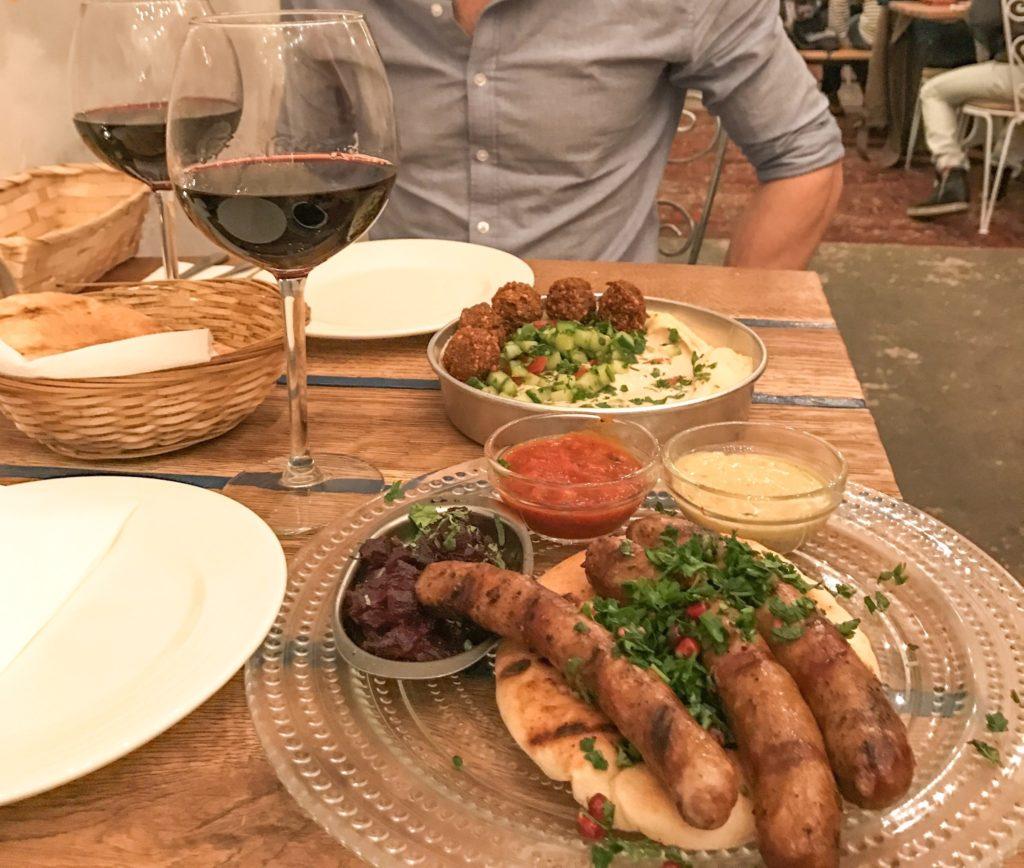 Aftensmad i Budapest Mazel Tov