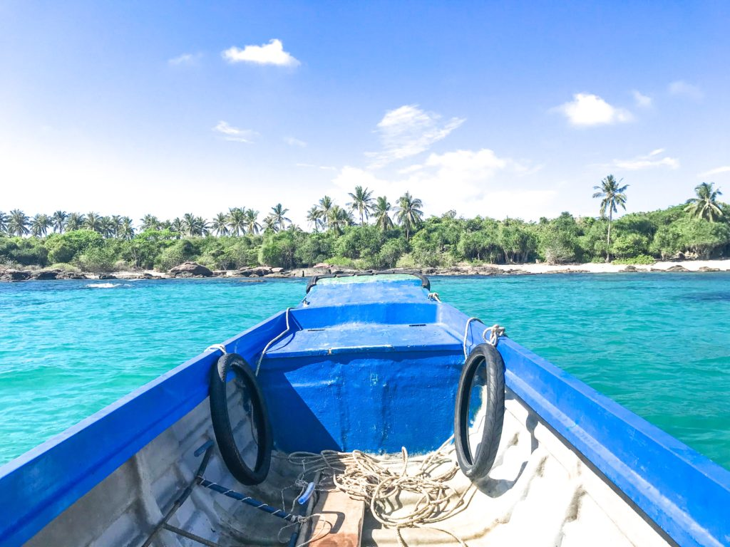 Privat bådtur på Phu Quoc