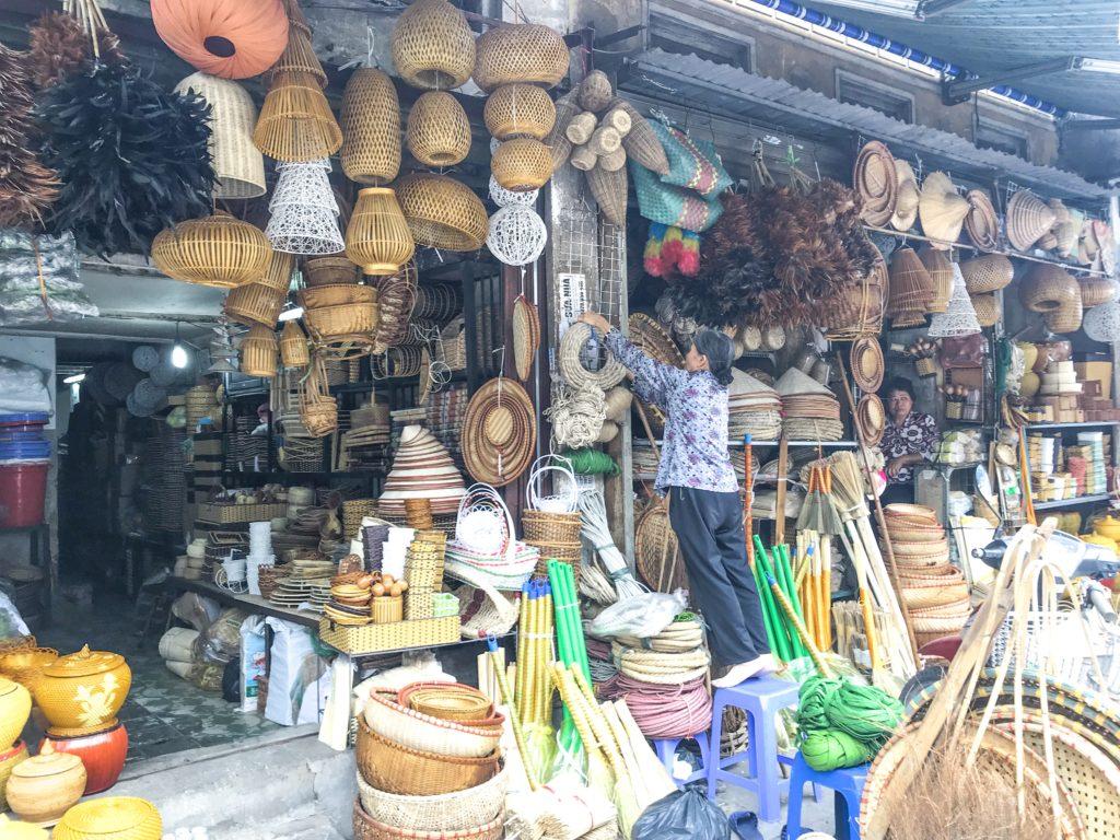 Shopping i Hanoi