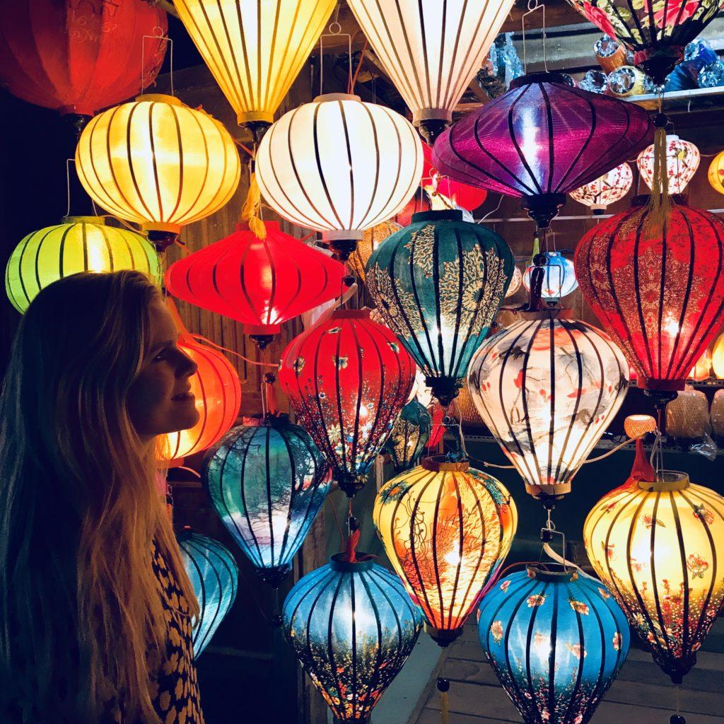 Smukke lanterner i Vietnam