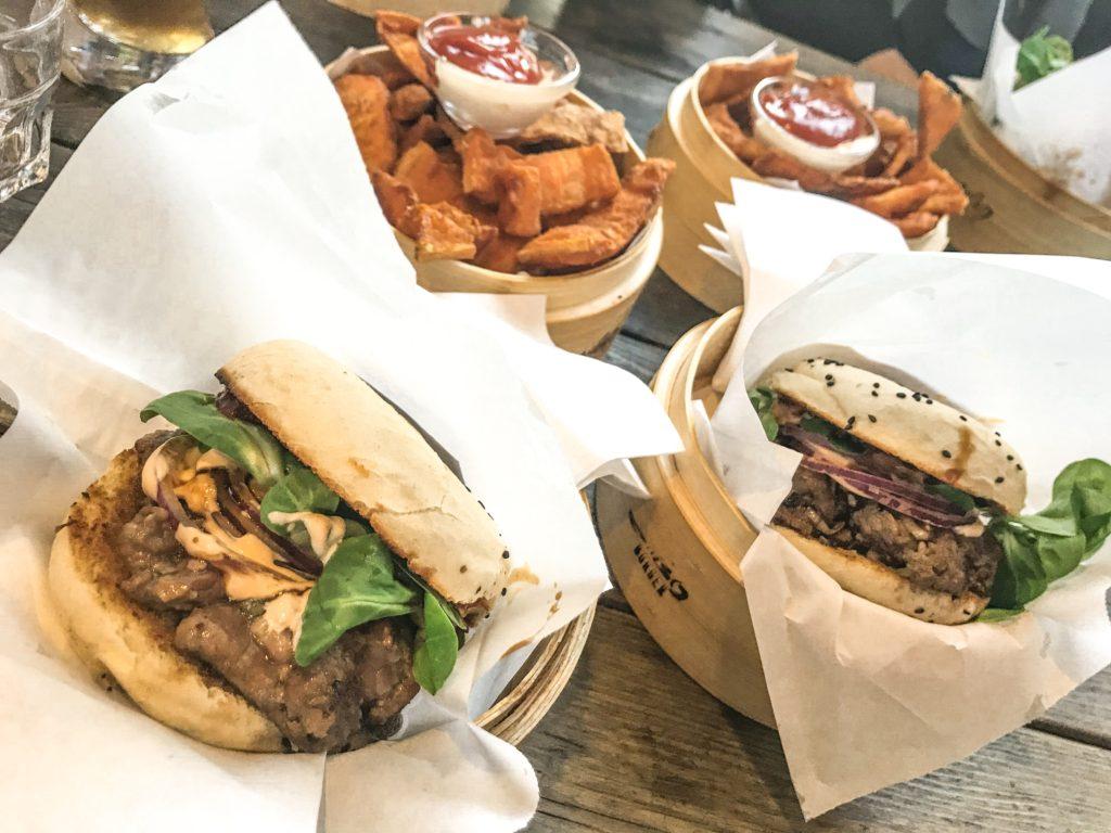 Asiatiske burgere i berlin