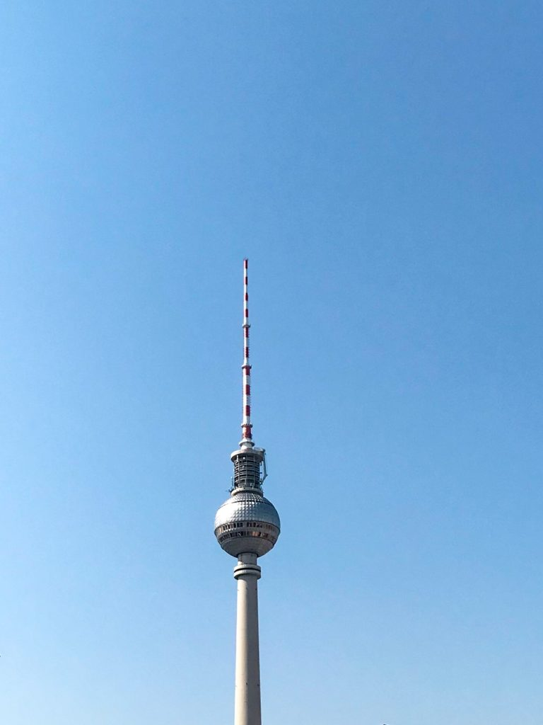 Berlin sightseeing fehrnseherturm