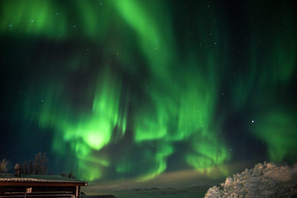 Nordlys i Lapland