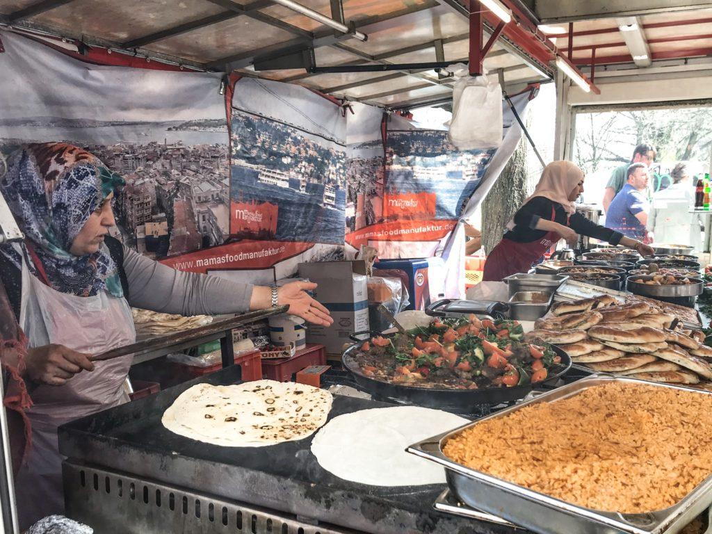 Tyrkisk madmarked i Berlin