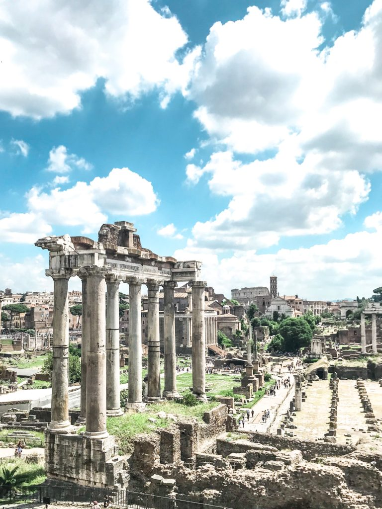 Roman Forum i Rom