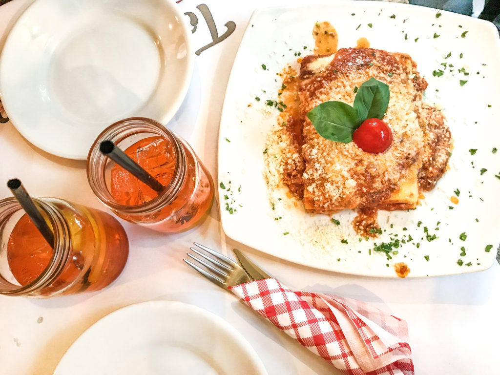 Aftensmad i Rom