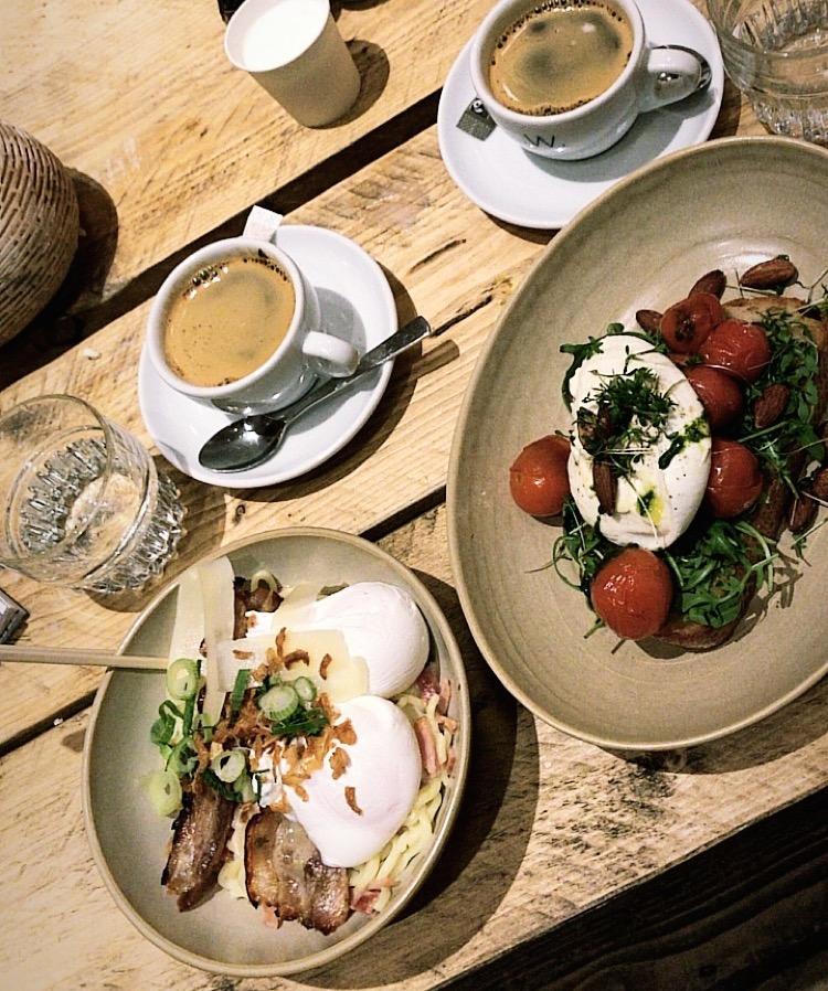 Bedste morgenmad i Amsterdam