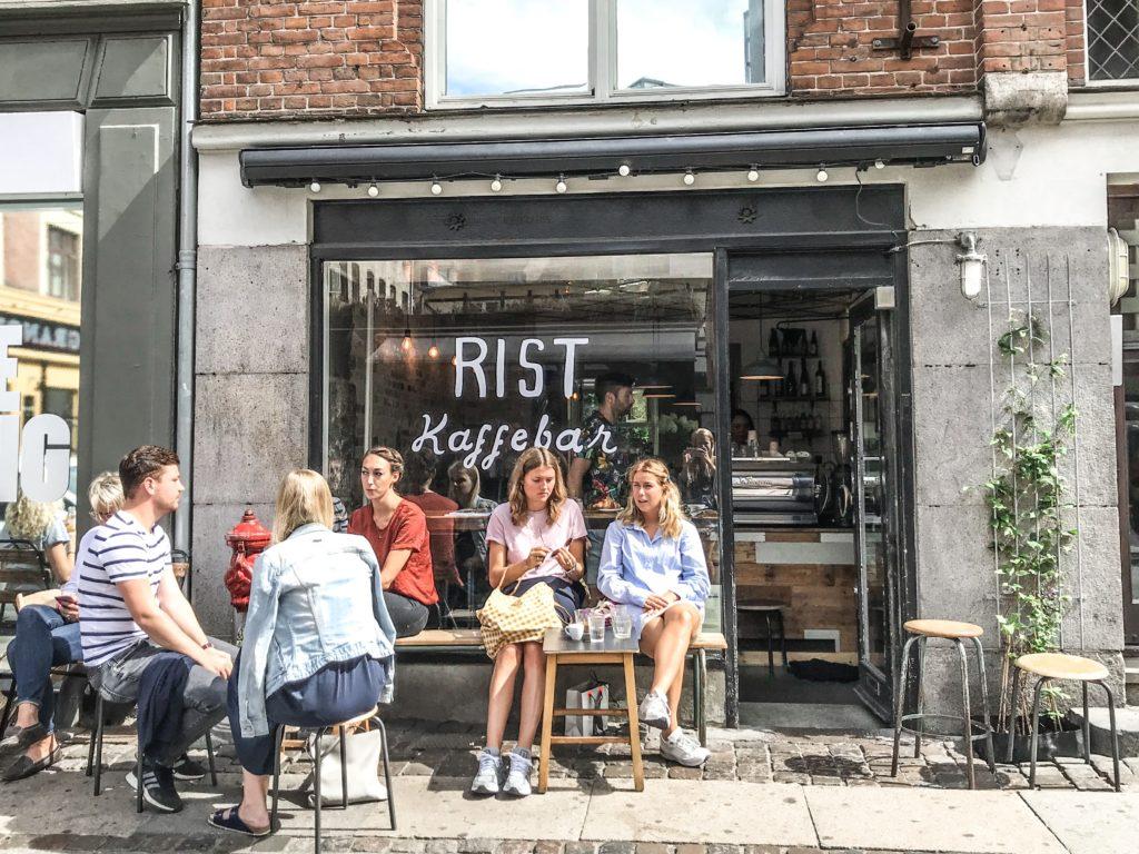 Kaffebarer i København Værnedamsvej
