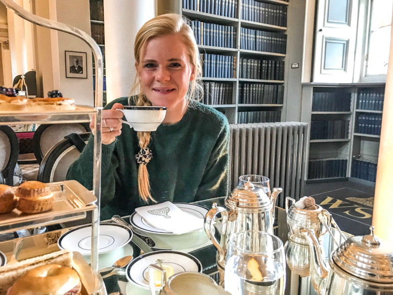 Bedste high tea Edinburgh