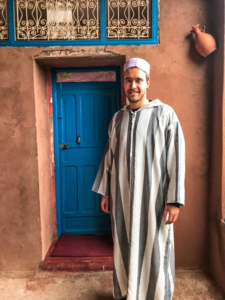 Besøg hos lokale Berbere Marokko