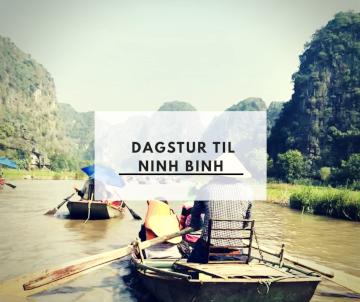 Dagstur til Ninh Binh