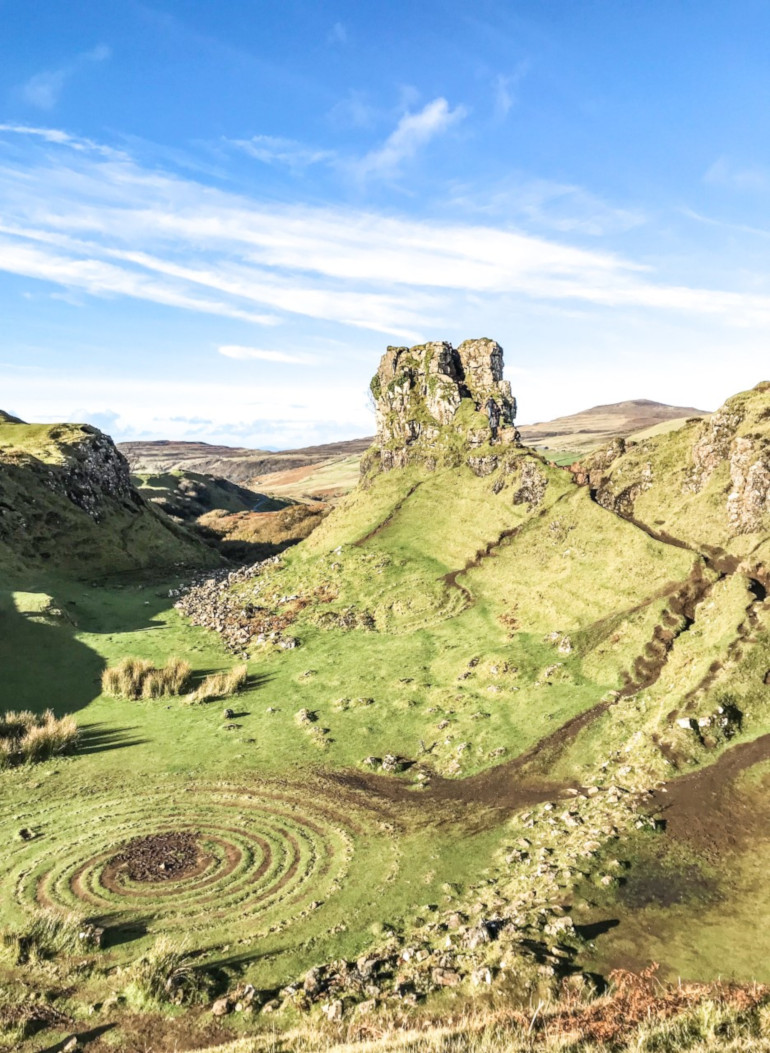 Fairy Glen Isle of Skye