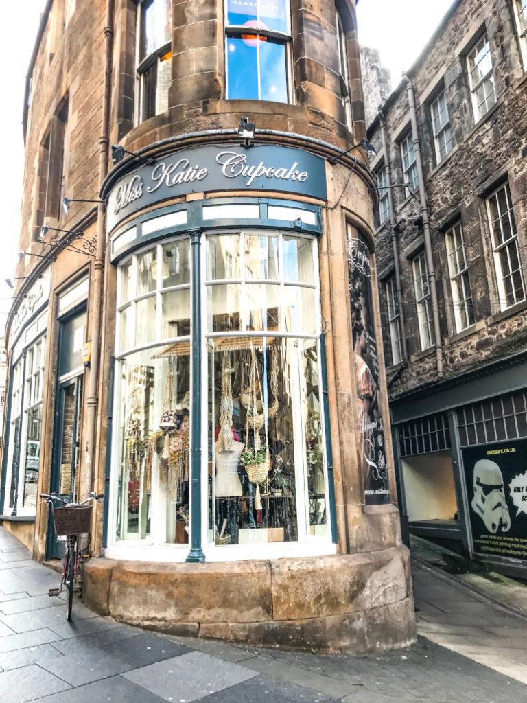 Favoritgader Edinburgh