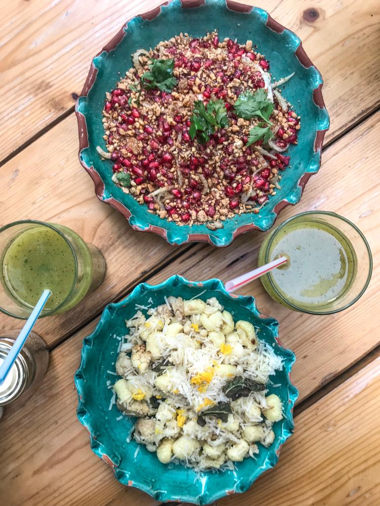 Frokost i Marrakech