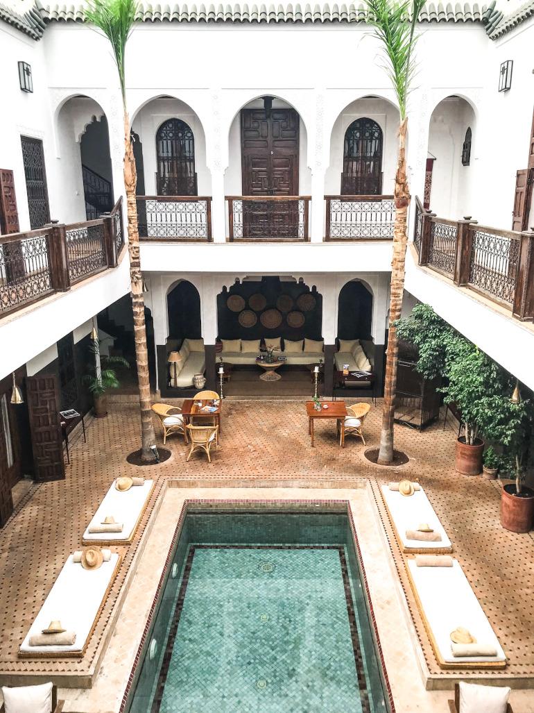 Riad Kasbah i Marrakech
