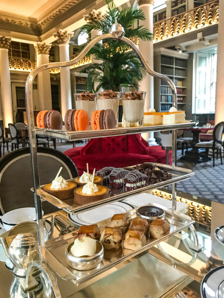 High tea Edinburgh