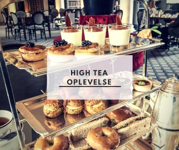 High tea oplevelse Edinburgh