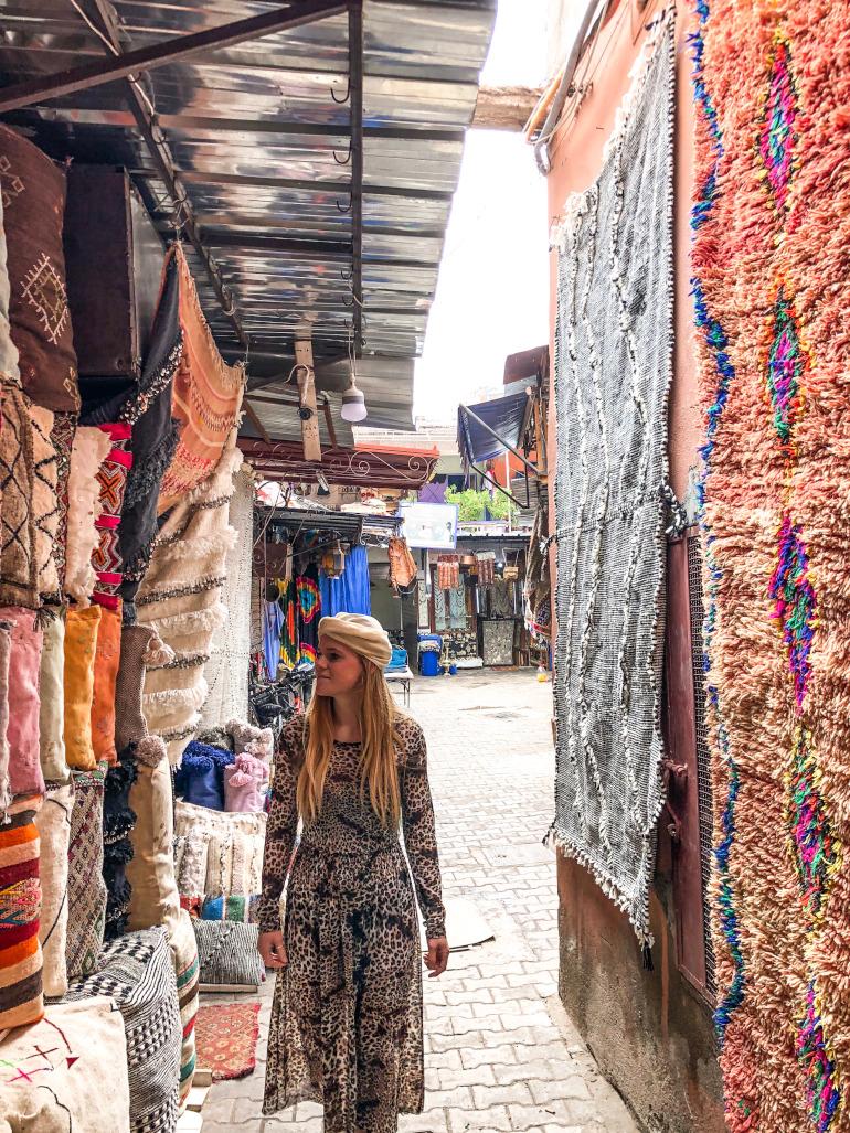 Souk i Marokko