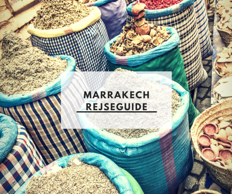 Marrakech rejseguide