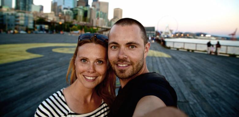 Mette og Martin rejser