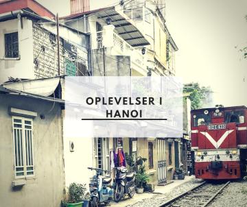 Oplevelser i Hanoi