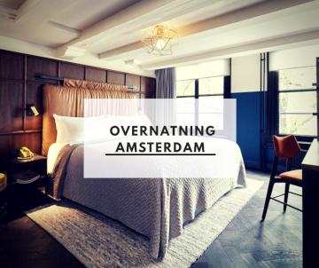 Overnatning Amsterdam