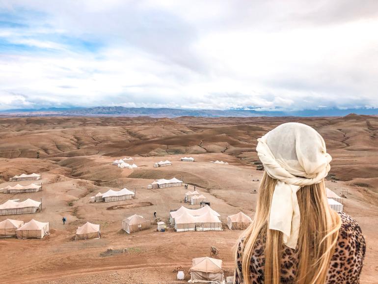 Scarabeo Camp Agafay ørken