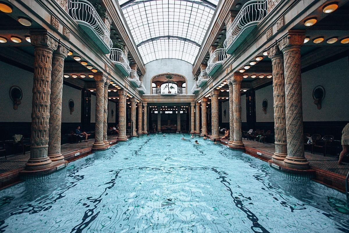 Gellert badet Budapest