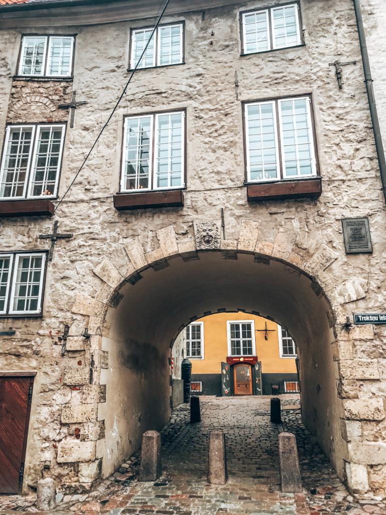 Svenskerporten Riga